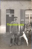 62 CARTE DE PHOTO OPPY SOLDAT ALLEMAND GUERRE 1914 1918 WWI - France