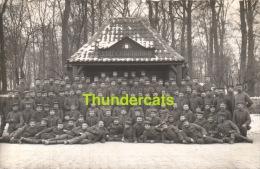 62 CARTE DE PHOTO OPPY  GUERRE 1914 1918 WWI SOLDATS ALLEMANDS - France