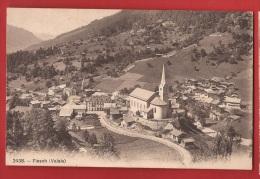 ACON-21  Goms Fiesch. Cachet 1909-  Phototypie 2438 - VS Valais