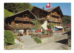 Cp, Restaurant, Hôtel Beau-Séjour Et Vieux Chalet - Chambéry (74) - Restaurants