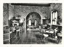 Cp, Restaurant, Hostellerie Du Château De La Chèvre D'Or - Ezé-Village (06) - Restaurants