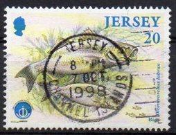 JERSEY 1998 Marine Life 20p Used - Jersey
