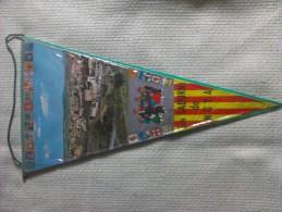 Banderín De San Sadurní De Noya. Barcelona. Cataluña. España. Años ´60-´70. - Ecussons Tissu