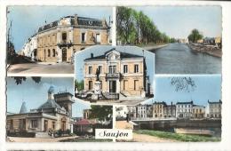 Cp, 17, Saujon, Multi-Vues, Voyagée 1960 - Saujon