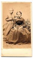 CDV / Petite Fille Et Femme / Lola / Napoléon III - Photos