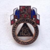Badge / Pin (Car Racing) - Czechoslovakia Auto Club - Car Racing - F1
