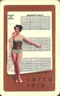 GAMBLING * LOTTERY * FOOTBALL POOL * WOMAN * GIRL * EROTIC * SEXY * CALENDAR * Sportfogadas 1967 * Hungary - Calendriers