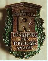 Anstecknadel  -  Der Rennsteig  -  Höhenweg Des Thüringer Waldes  -  Ca. 25 X 35 Mm - Pin's & Anstecknadeln