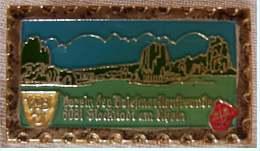 Anstecknadel  -  Verein Der Briefmarkenfreunde Stockstadt Am Rhein  -  Ca. 28 X 15 Mm - Pin's & Anstecknadeln