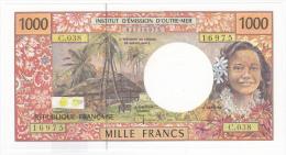 Polynésie Française / Tahiti - 1000 FCFP - C.038 / 2008 / Signatures Severino-Landau-Besse - Neuf / Jamais Circulé - Papeete (Polynésie Française 1914-1985)