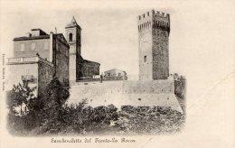 [DC7426] SAN BENEDETTO DEL TRONTO (ASCOLI PICENO) - LA ROCCA - Old Postcard - Altre Città