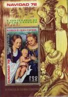 Christmas 1972 Cranach Äquatorial Guinea 173/80A/B, Block 42+43 O 9€ Kinder Bloque M/s Art Bloc Painting Sheet Bf Africa - Christianity