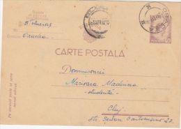 KING MICHAEL, PC STATIONERY, ENTIER POSTAL, 1946, ROMANIA - Ganzsachen