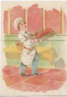 Chromo/ Métiers/Cuisinier Avec Homard/ Le CUISINIER/ Vers 1885                  IM487 - Sin Clasificación