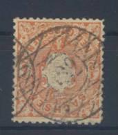 Sachsen Michel No. 15 gestempelt used Nummerngitterstempel 122