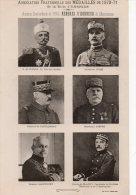 95 ENGHIEN Cartonnage Photo Les Médaillés De 1870-71. Anciens Combattants MEMBRES D'HONNEUR - Enghien Les Bains