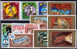 POLYNESIE: Année Complète 1975 ** - Années Complètes