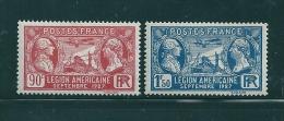 N°244/245 Neuf*  ( Legion Etrangere)   Charniere - Frankreich