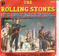 """DISQUE 45 T -ROLLING STONES """"  IT'S ONLY ROCK N'ROLL - Other Collections"""