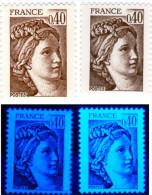 Sabine 2118**_2 Belles Différentes émissions-Voir Description Et Scan-(v484) - Variétés: 1980-89 Neufs
