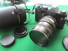 Appreil Photo Topcon RM300 Et AM Zoom Topcor MC 35-100mm - Appareils Photo