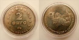 2 Euro Temporaire Precurseur De NARBONNE  1997, RRRR, Nickel, Nr. 470 - Euro Der Städte