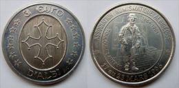 3 Euro Temporaire Precurseur D´ALBI, 1996,  1000 Ex. Only, RRRR, Nickel, Nr. 19 - Euro Der Städte