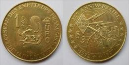 1 Euro Temporaire Precurseur De REF 83, 1997,  3000 Ex. Only, RRRR, Bronce, Nr. 551 - Euro Der Städte