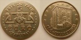 5 Euro Temporaire Precurseur De CHANCENAY, 1996, 500  Ex. Only, RRRR, Nickel, Nr. 188 - Euro Der Städte