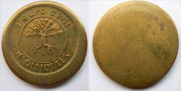 1 Euro Cent Temporaire Precurseur De OLLIOULES, 1998, 1000  Ex. Only, RRRR, Bronce, Nr. 490 - Euro Der Städte