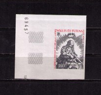 WALLIS & FUTANA Sc# C98 Var MNH FVF Imperf Margin Tab Christmas 1979 - Wallis And Futuna