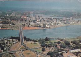 AFRIQUE DE L´OUEST,AFRICA,AFRIKA,COT E D´IVOIRE,Prés MALI,BURKINA FASO,LIBERIA,ASSOUINDE,AB IDJAN,pont Houphouet Boigny - Côte-d'Ivoire