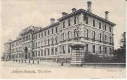 Woolwich UK, Herbert Hospital Building Architecture, C1900s Vintage Postcard - London Suburbs