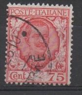 1926 (201) Floreale Cent 75 Usato  (leggi Messaggio Del Venditore) - Usati
