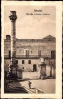 Cp Brindisi Puglia Italien, Antiche Colonne Romane, Turm - Italia