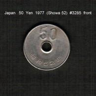 JAPAN    50  YEN  1977  (Hirohito 52---Showa Period)  (Y # 81) - Japan