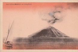 Evènements - Volcan Stromboli - Vulcanologie - Evénements