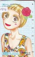 Carte Prépayée Japon * MANGA * KISS * ANIMATE * ANIME (11.826) Movie Japan Prepaid Card Tosho Karte - Kino