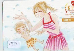 Carte Prépayée Japon * MANGA *  KISS * ANIMATE * ANIME (11.851) Movie Japan Prepaid Card Tosho Karte - Film