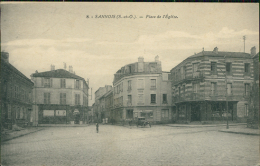 95 SANNOIS / Place De L'Eglise / - Sannois