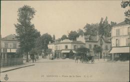 95 SANNOIS / Place De La Gare / - Sannois