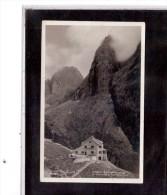5815  -   GRUPPO DEL CATINACCIO,  Rifugio Bergamo  -  Viaggiata   1.8.1935 - Italia