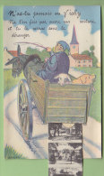 Vichy : N'as-tu Jamais Vu Vichy ? Carte Système Multivue. Cochon. 3 Scans. Edition D D - Vichy