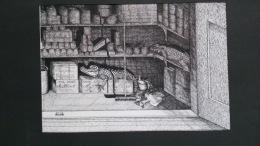 Andriana CAVALETTI (1947-)- Retour Aux Sources - Encre Signée, Intitulée - Drawings