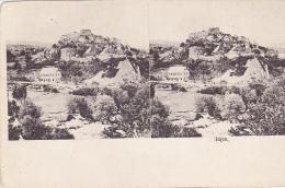 JC17   --   BOSNIA, BOSNIEN  ~~  JAJCE  --  STEREO CARD - Stereoskope - Stereobetrachter