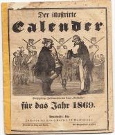 USA - Der Illustrierte Calender Fur Das Jahr 1869 - Louisville, Kentucky - Chroniques & Annuaires