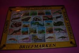50  TIMBRES  DE REPTILES - Reptiles & Batraciens