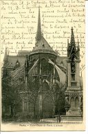 75004 PARIS - Notre-Dame De Paris. L'Abside - Arrondissement: 04