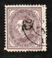 PORTUGAL    Scott  # 55  F-VF USED - Used Stamps