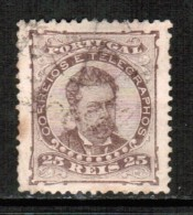 PORTUGAL    Scott  # 60 C  VF USED - Used Stamps